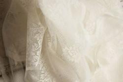 Witte kanten doek