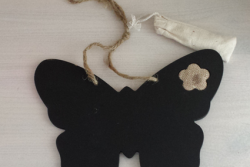 Krijtbordje vlinder