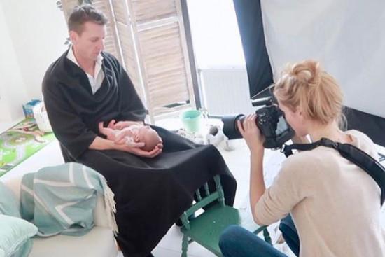 Parent Cover, voor de perfecte newbornfotografie in combinatie handen ouders