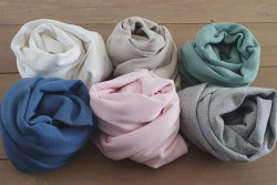 Wraps met stretch in 6 kleurtjes