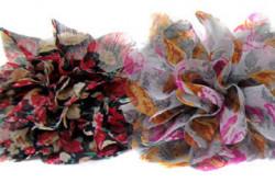 Diadeem met stoffen bloem (nr1) in 4 verschillende kleuren!