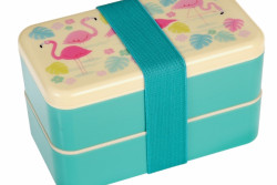 Bento box flamingo
