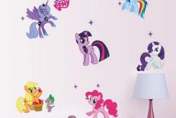 Muursticker pony