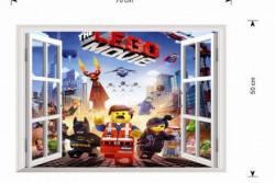 Muursticker Lego