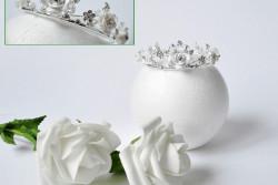 Kroontje met bloemen
