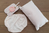 Setje met kussen Tessa - newborn - fotografie