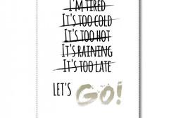 Poster Lets go