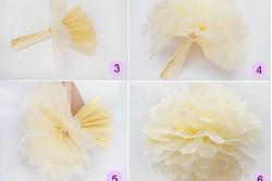 Pompon lila, 3 maten